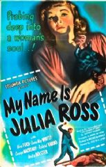 My Name Is Julia Ross 1945 DVD - Nina Foch / Dame May Whitty